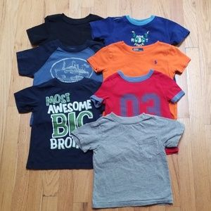 2T/24 Month T-Shirt Lot (7 items)